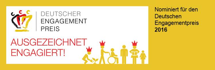 Logo Nominierung Deutscher Engagementpreis 2016